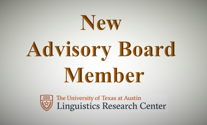 New Advisory Board Member