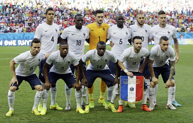 Cheers to France winning 2 - 0 Against Nigeria