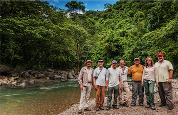 Geography and LLILAS' Professors Visit a New Potential Study Site in Puerto Rico