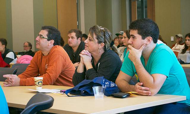 Liberal Arts Welcomes Families to Campus
