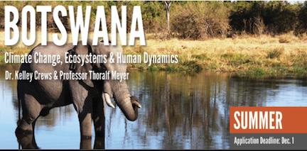 Spots Open- Study Abroad in Botswana Summer 2015!