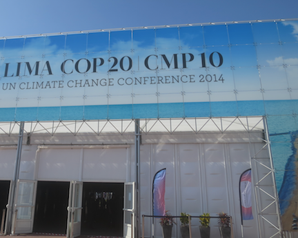Ph.D. Student Sara Diamond Attends 2014 United Nations Framework Convention on Climate Change