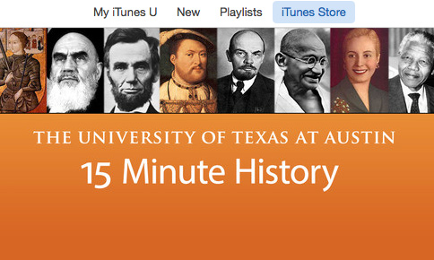 15 Minute History Named Best Podcast of 2014