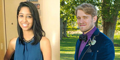 Reema Ali and Neil Byers