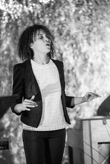 Come See Eisa Davis, Black Studies' Spring 2015 Visiting Performing Artist