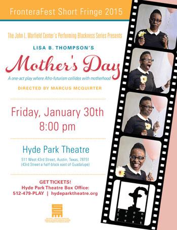Mark you calendars for Lisa B. Thompson's