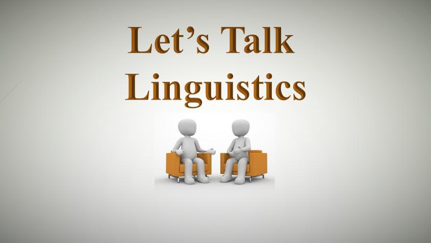 Linguistics Talk