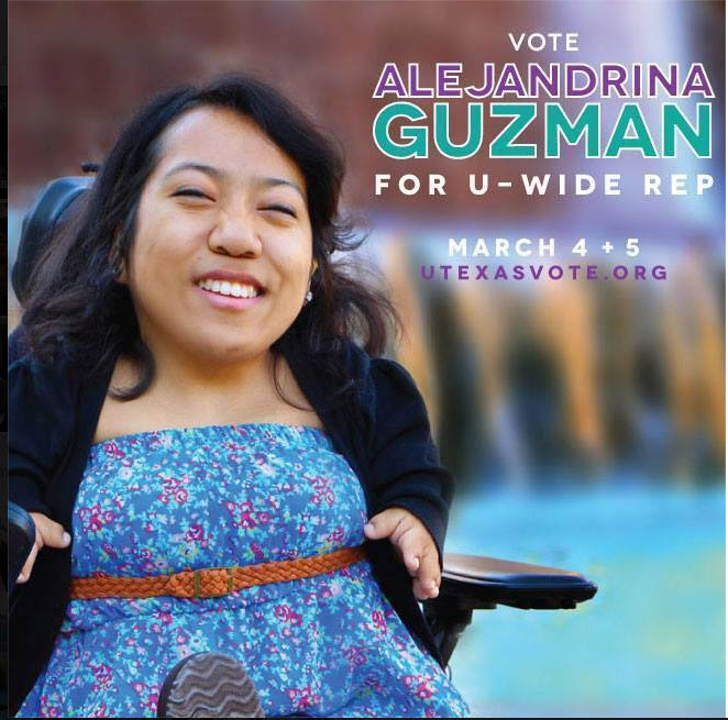 Alejandrina Guzman Elected U-Wide Rep