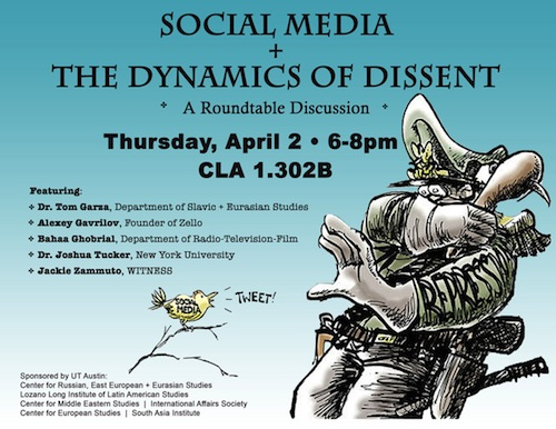 Social Media and the Dynamics of Dissent