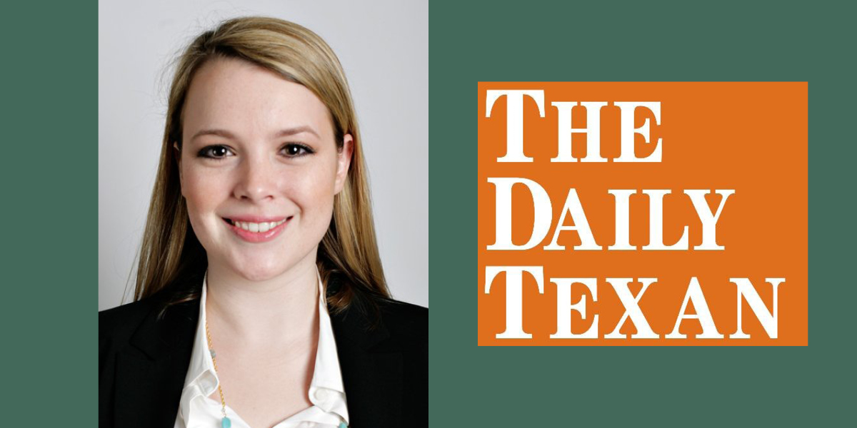 Daily Texan Editor-in-Chief and History major, Claire Smith