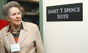 In Memoriam: Dr. Janet Taylor Spence, Professor Emeritus