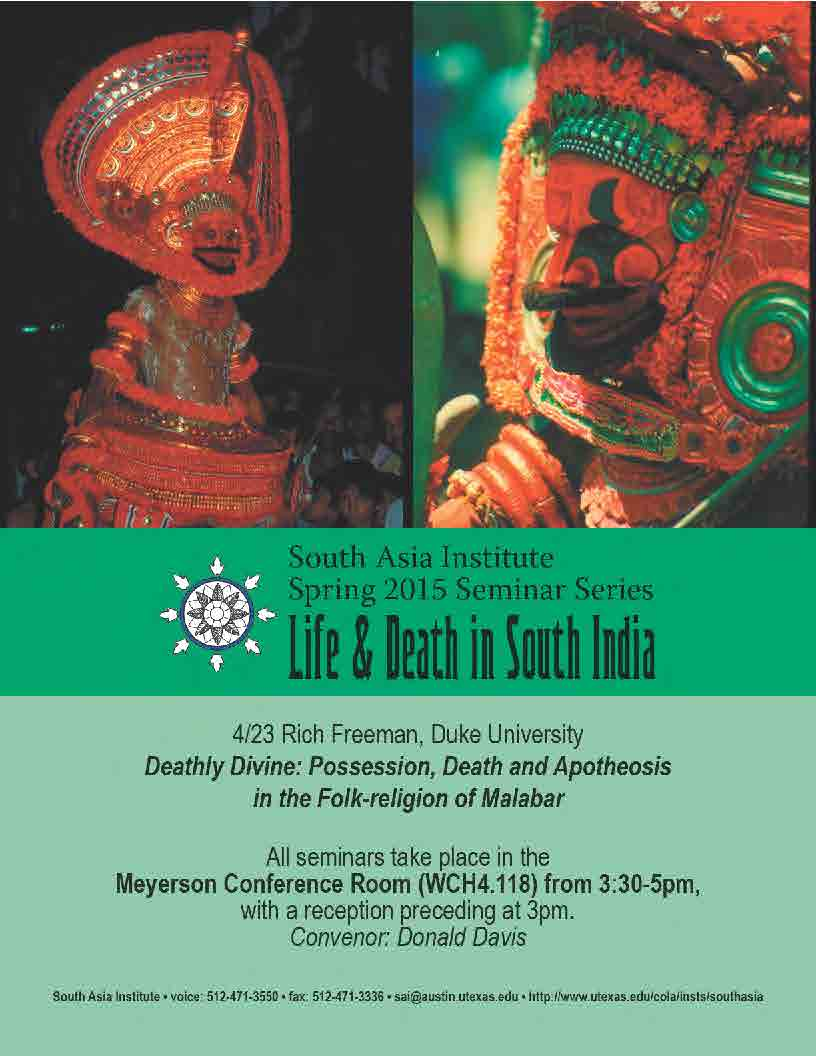 South Asia Seminar Series: Professor Rich Freeman, Duke University