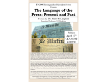 The Language of the Press: Present and Past