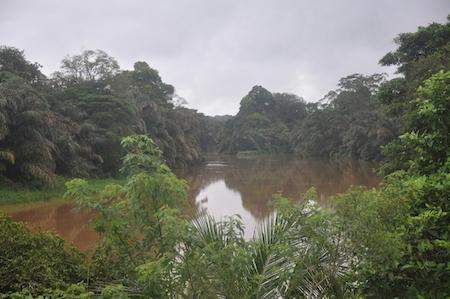 Rio Indio at Dos Bocas