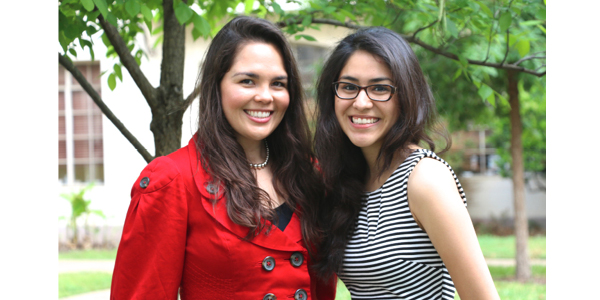 Liz Elizondo and Christina Villarreal