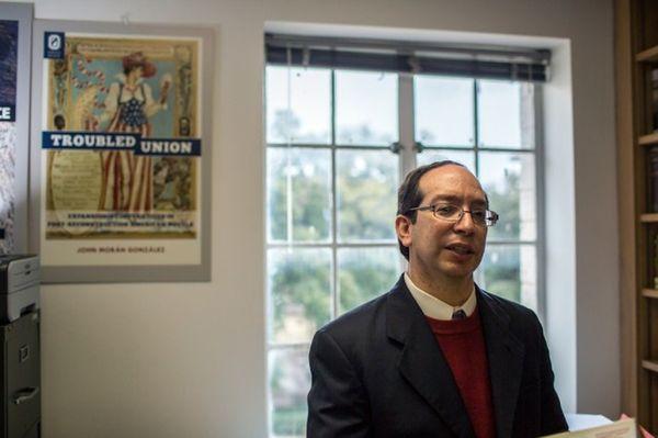 Professor John Morán González remembers racial violence in early twentieth century Texas as a part of
