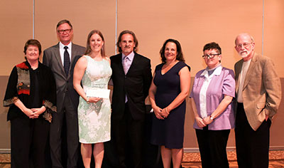 Meghan Andrews wins the 2015 University Co-op and OGS Best Dissertation Award