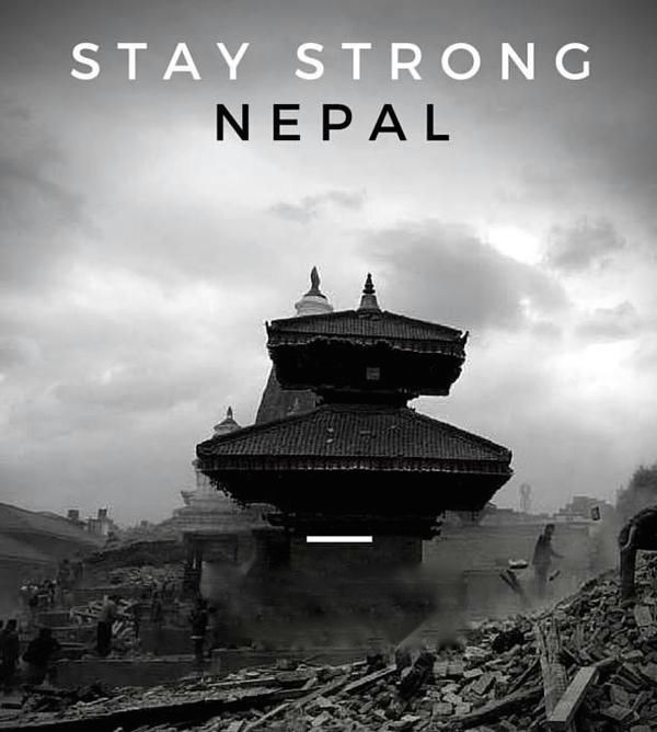 Stay Strong, Nepal