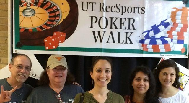 Asian Studies team wins Best Team Name at UT Poker Walk