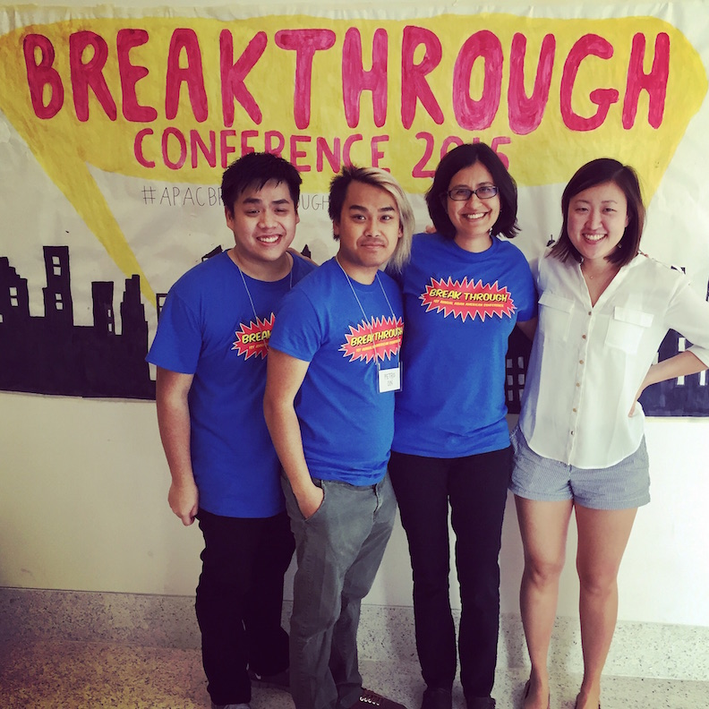 Center staff at Breakthough