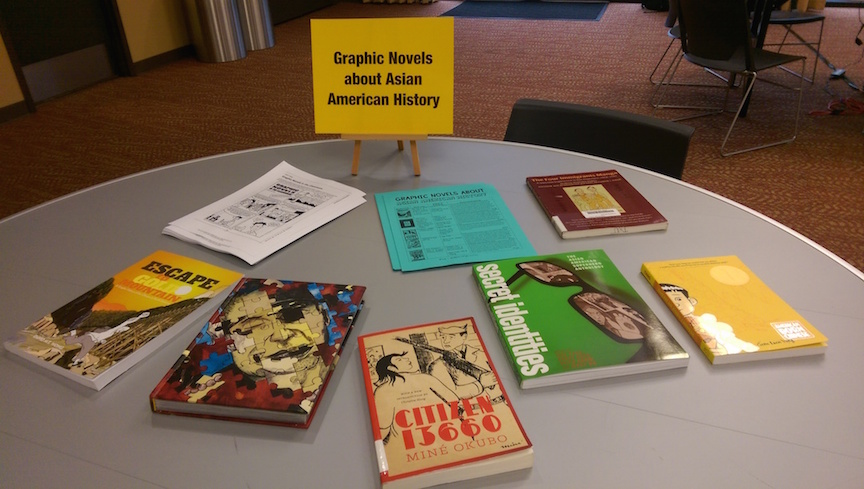 Graphic novels about Asian American history