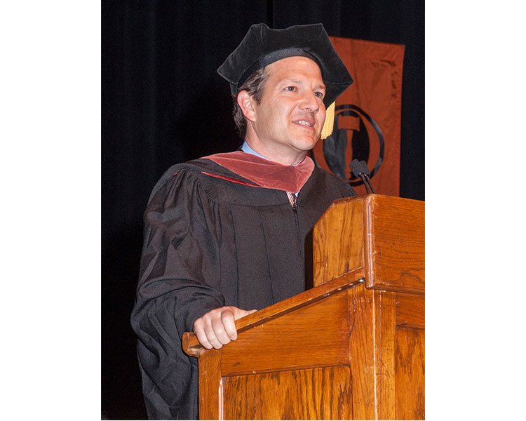 English Alumnus Kirk Lynn's Commencement Address Notes