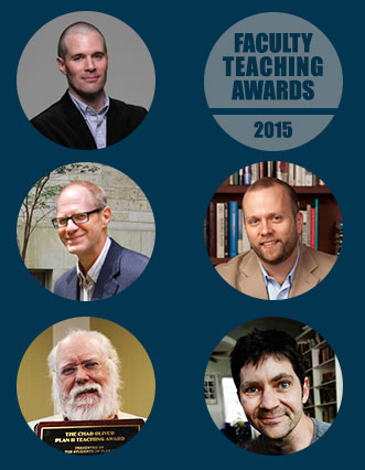 2015 Faculty Teaching Awards