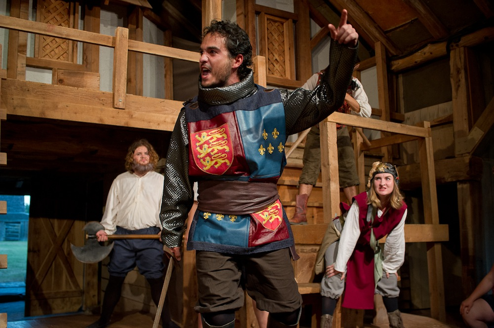 Shakespeare at Winedale presents Henry V in Austin!