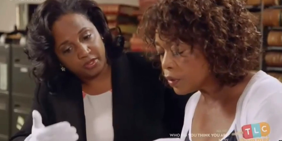Daina Ramey Berry and Alfre Woodard (TLC)