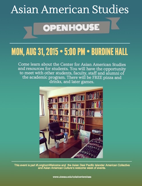 Asian American Studies Open House