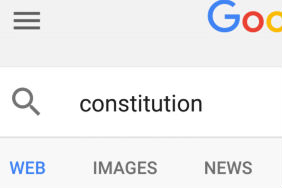 Google and Constitute Fit Constitution on an Index Card