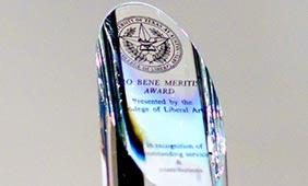 Pro Bene Meritis Award