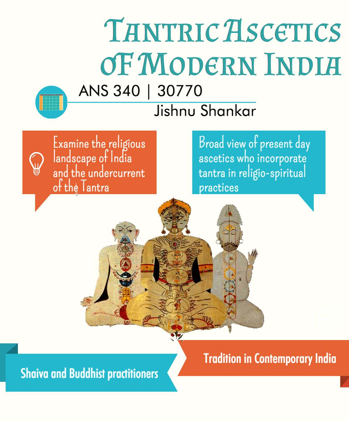 Course Spotlight: ANS 340 Tantric Ascetics Modern India