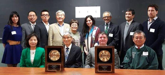 Dr. Robert Oppenheim awarded the Global Korea Award