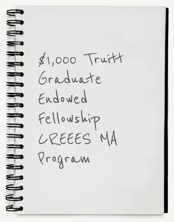 Truitt Graduate Fellowship for CREEES MA Students—DEADLINE MARCH 4