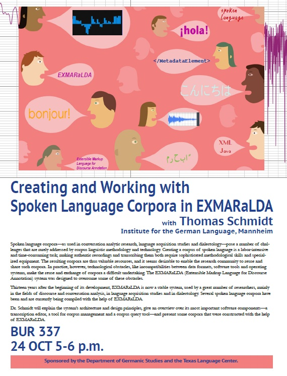 Creating and Working with Spoken Language Corpora in EXMARaLDA