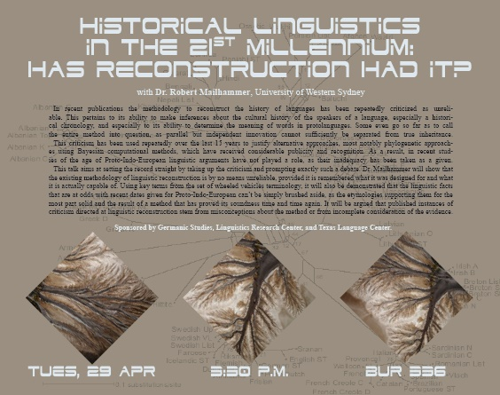 Historical Linguistics in the 21st Millennium: Has Reconstruction Had It?