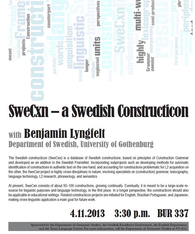 SweCxn - A Swedish Constructicon
