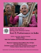 February 25 - South Asia Seminar Series: Linda Hess, Stanford University