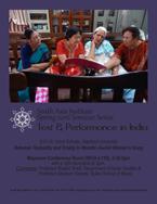 MARCH 24 - South Asia Seminar Series: Anna Schultz, Stanford University