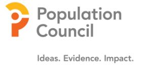 Population Council.