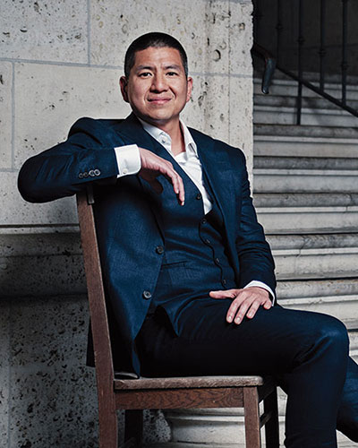Dr. Eric Tang - Photo from ALCALDE, by Matt Wright-Steel