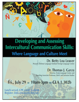 Developing & Assessing Intercultural Communication Skills: Where Language and Culture Meet