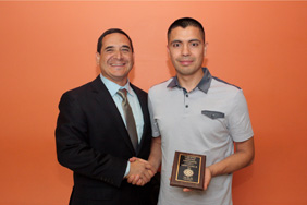 Mike Martinez and Martin Sanchez Jr. (Photo by Alberto Gonzalez)