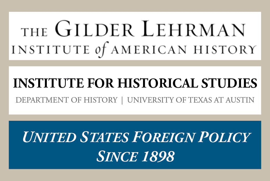Gilder Lehrman Institute, June 19-25