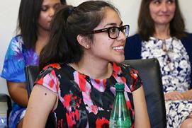 History Ph.D. student Christina Villarreal