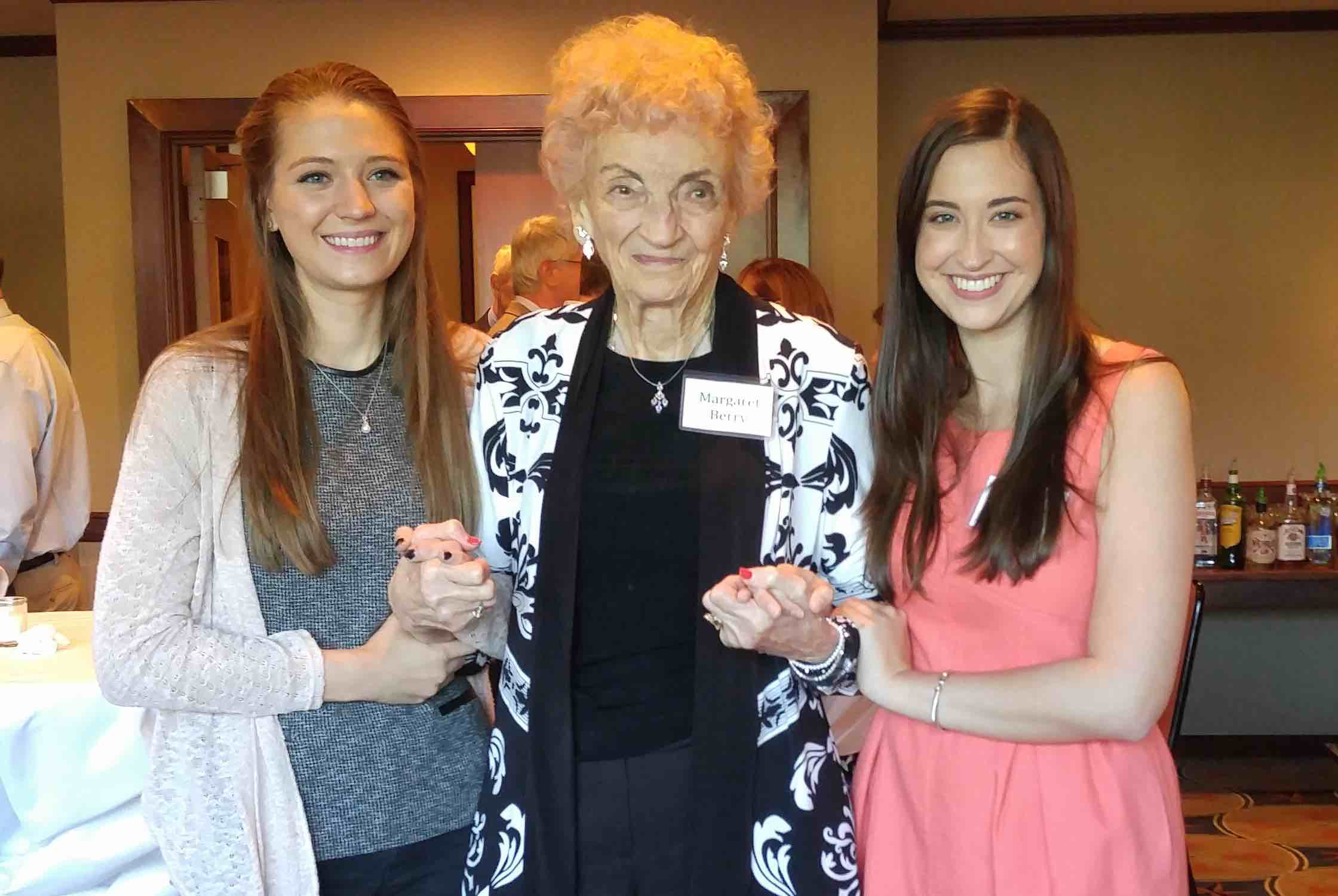 Pictured, left to right: Kylie McDaniel, Margaret Berry, & Tori Pell