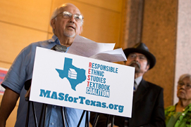 Dr. Emilio Zamora. Photo credit: Marjorie Kamys Cotera. Courtesy of the Texas Tribune.