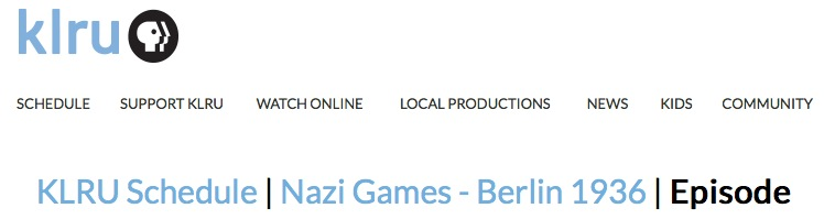 Nazi Games - Berlin 1936