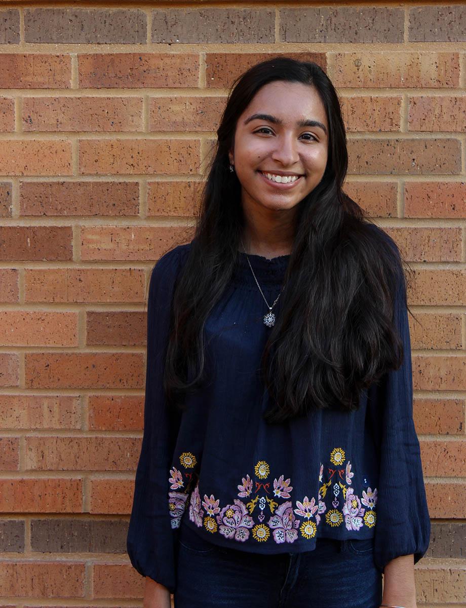 Zoya Zia, International Relations & Global Studies/Liberal Arts Honors major